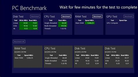 bench mark tests pc benchmark test youtube