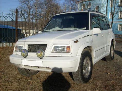Suzuki Escudo 1996 1996 Suzuki Escudo Pictures 1600cc Gasoline Automatic