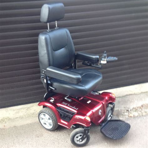 Rascal Power Chair Rascal P312 Turnabout With Seatlift Powerchair