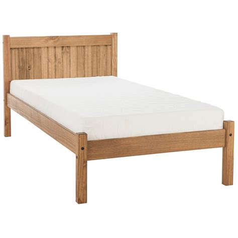 hardwood bed frame maya wooden bed frame next day select day delivery
