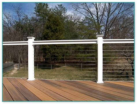 cost of cable railing for decks 1