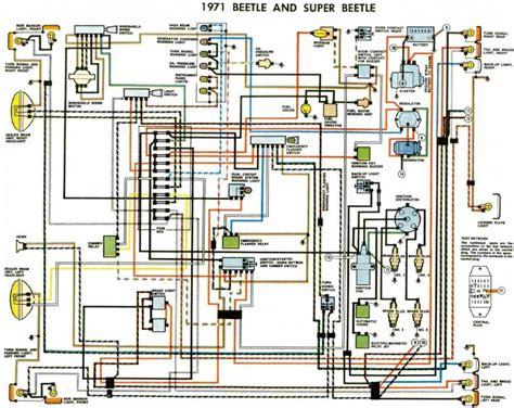 1974 vw beetle turn signal wiring diagram free