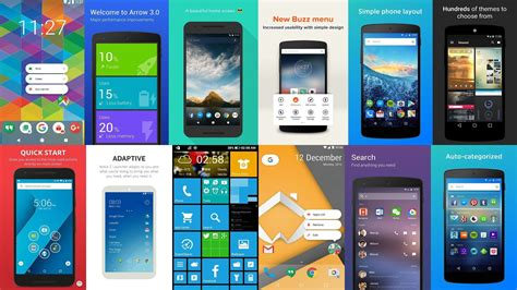 android launchers apps apps news 10 best android launcher apps to customize your android phone mobile tech gadget news
