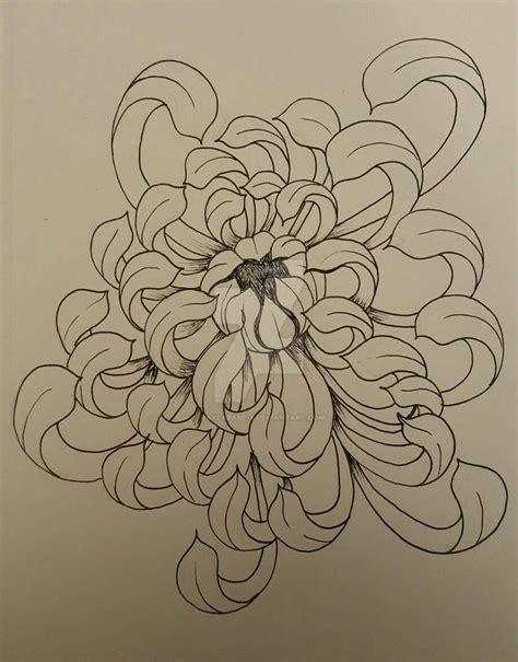 chrysanthemum flower by kaylababe75 on deviantart