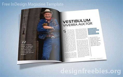 free exclusive indesign magazine template v 2 designfreebies
