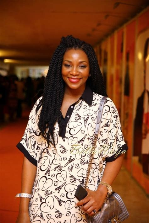jenevive nnaji hair styles genevieve nnaji s chic style at the 2014 ay live show