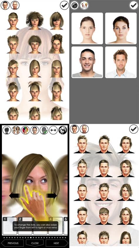 hairstyles app for ipad hairstyle magic mirror change your look lite umstyling