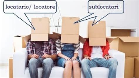 subaffitto appartamento contratto di sublocazione