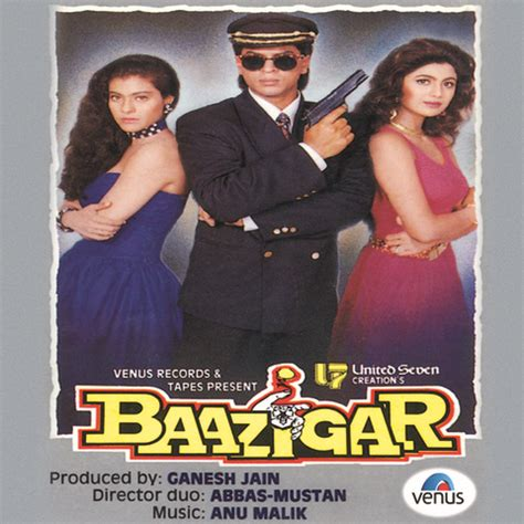 download mp3 from bazigar tere chehre pe mp3 song download baazigar songs on gaana com