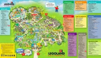 legoland florida park map the thrills legoland california