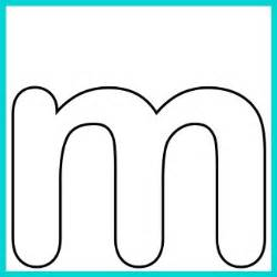 Letter M Template by Lower Alphabet Letter M Template And M Song Clipart