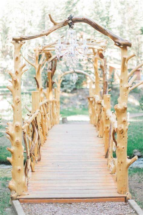 rustic backyard wedding decoration ideas deer pearl
