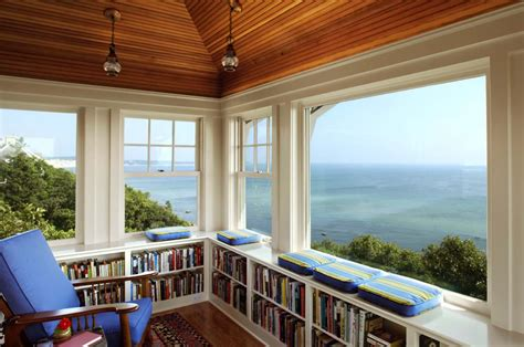 houses with window seats 36 fabulous home libraries showcasing window seats