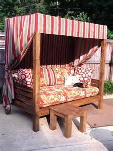Diy Outdoor Daybed Outdoor Daybed White Woodworking Projects