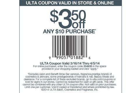 printable ulta coupons 3 50 off 10 saving 4 a sunny day 3 50 off at ulta