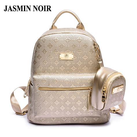 Backpack Fashion Set Banana aliexpress buy s backpack fashion 2017 s leisure grade pu bag set with purse