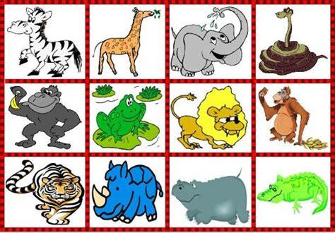 fotos animales juegos juego de asociacion por tematicas para ni 209 os clip art