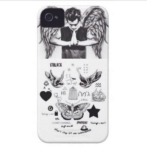 Harry Styles Tattoo Phone Case Amazon | jewels harry styles tattoo phone cover wheretoget