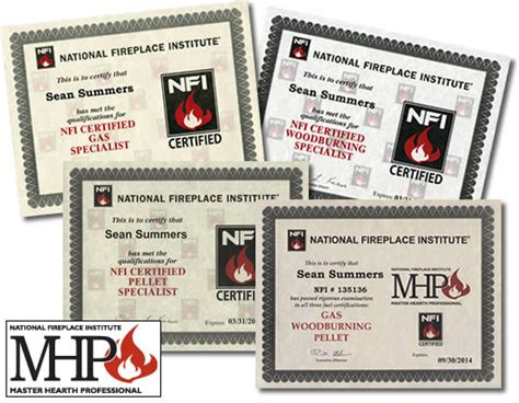 Hearth Patio And Barbecue Education Foundation Nfi Certified
