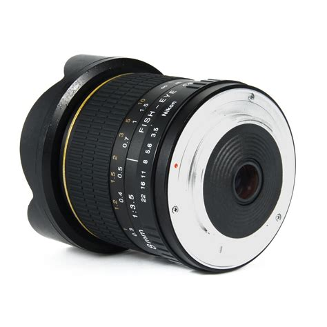 Lensa Fisheye Nikon D3200 8mm f3 5 aspherical fisheye lens for nikon d300s d3200 d5300 d7000 d7100 lf550 ebay