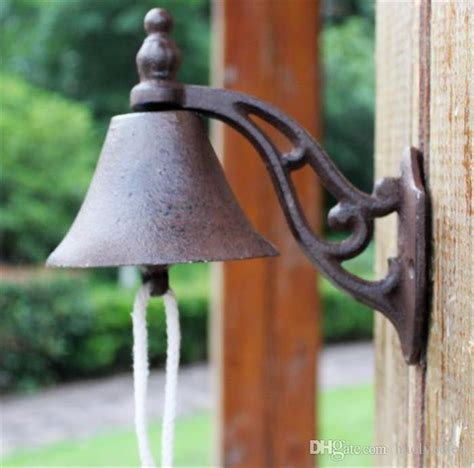 cast iron  dinner bell wall mounted metal
