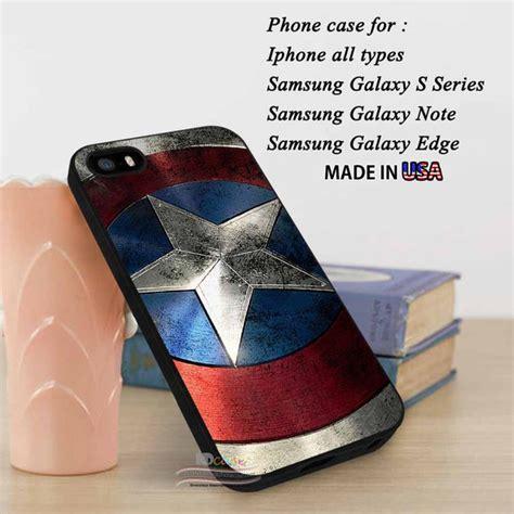 Casing Samsung S7 Edge Top Captain America Civil War Custom Hardcase iphone se shield captain america collage