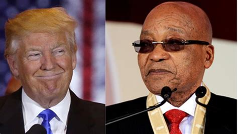donald trump zuma zuma and trump brothers from different mothers city press