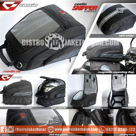 Tas Tangki Sepeda Motor tankbag contin skipper distro jaket motor jaket