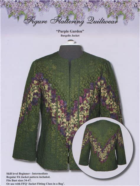 purple garden jacket pattern