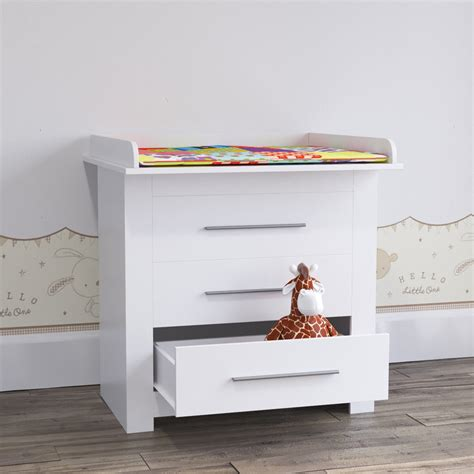 Baby Change Table Top Baby Changing Table Top Baby Changer Cabinet Drawers Baby Furniture White Ebay