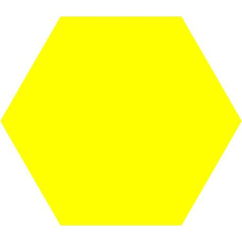 yellow hexagon pattern hexagon clipart pattern block pencil and in color