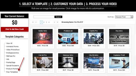 automated templates for intros free make free intros with flixpress it s easy
