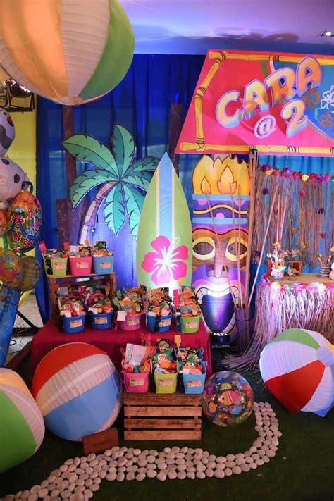 birthday themes summer kara s party ideas olaf s tropical summer birthday party