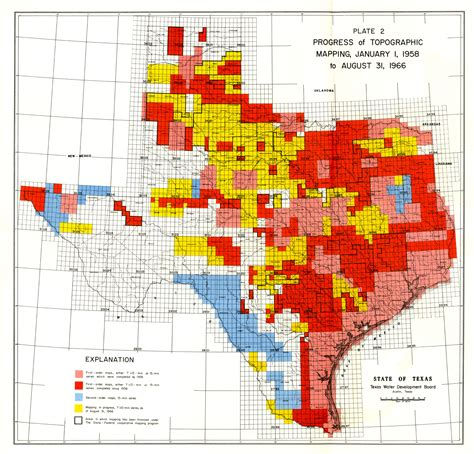 flood maps texas numbered report 40 texas water development board
