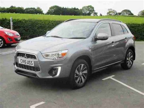 mitsubishi grey mitsubishi 2015 asx di d 4 diesel grey manual car for sale
