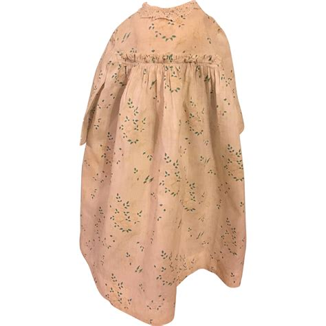 bisque doll dress antique dress for bisque and china dolls 1890 from