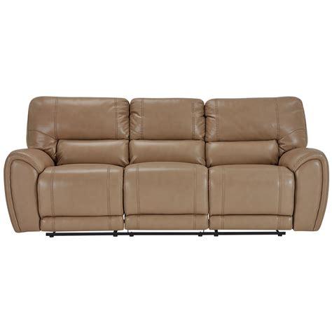 Reclining Sofa Microfiber City Furniture Bailey Taupe Microfiber Reclining Sofa