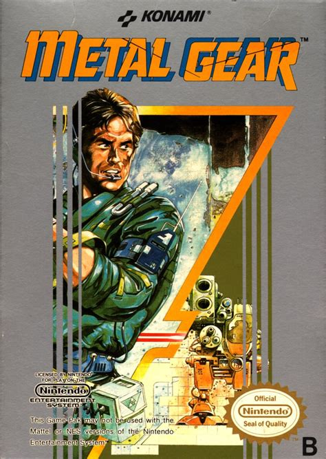 Original I Gear metal gear for nes 1987 mobygames