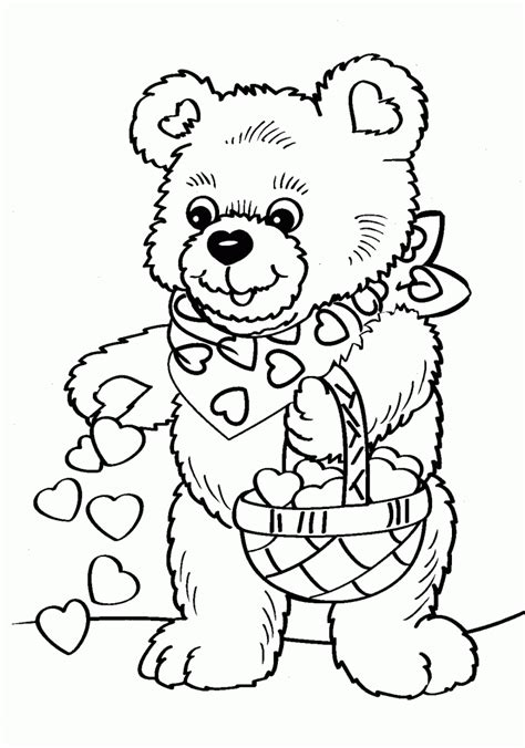 baby bear coloring pages coloring home