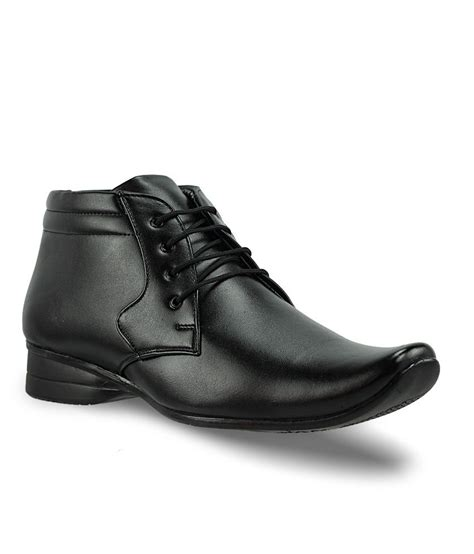 office gear black formal shoes price in india buy office