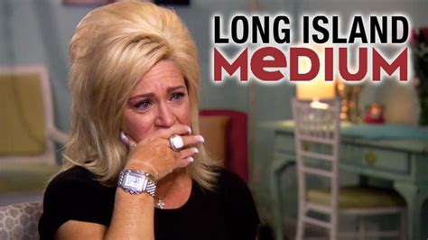 larry caputo long island medium long island medium stars theresa larry caputo split