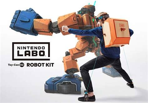 Nintendo Labo Cardboard Toy Cons for Nintendo Switch   Gadgetsin