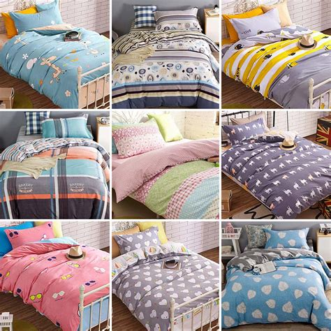 teenage bedding free shipping cute cartoon bedding sets teens kids twin