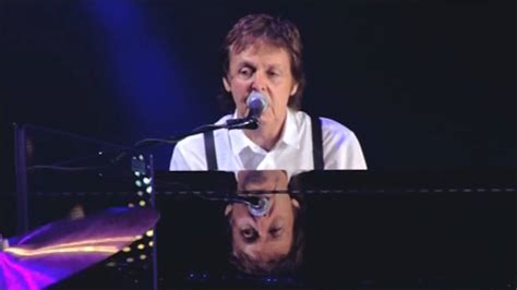 song paul mccartney paul mccartney live let it be evening new york