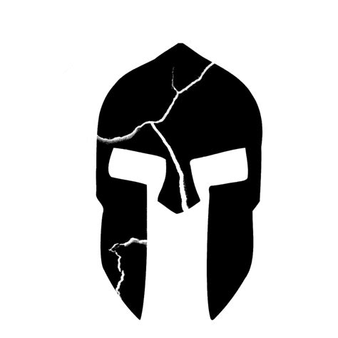Helm Aufkleber Name by 300 Inspired Cracked Spartan Helmet Vinyl Sticker Car Decal