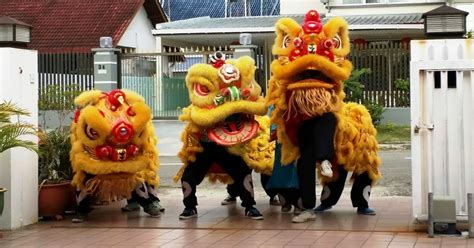 new year lions kinabalu new year quot lions quot performance