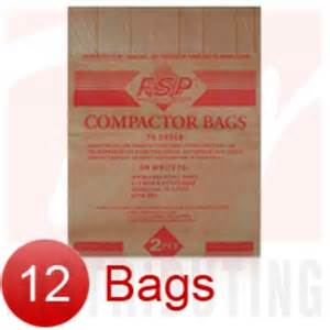 trash compactor bags 675186 15 quot paper trash compactor bags 12 pk by whirlpool