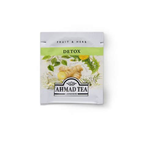 Ahmad Cleansing Detox Tea by Ahmad Tea Cleansing Detox Herbal Box 40 Grams