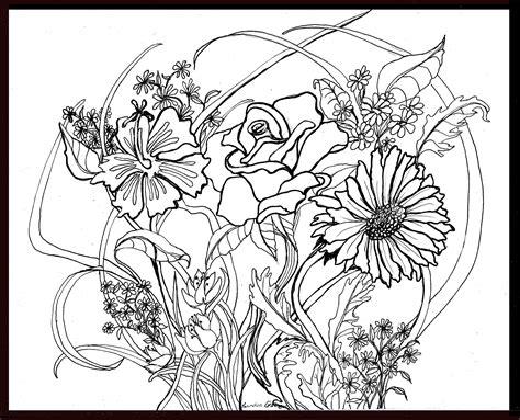 ?Flower Garden Doodle?   Creating Art, Gardening