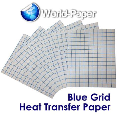 printable iron on paper for dark fabrics iron on heat transfer paper for dark fabrics blue grid